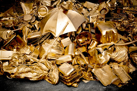 Golden Waste - Emmanuel Colombani (2009)